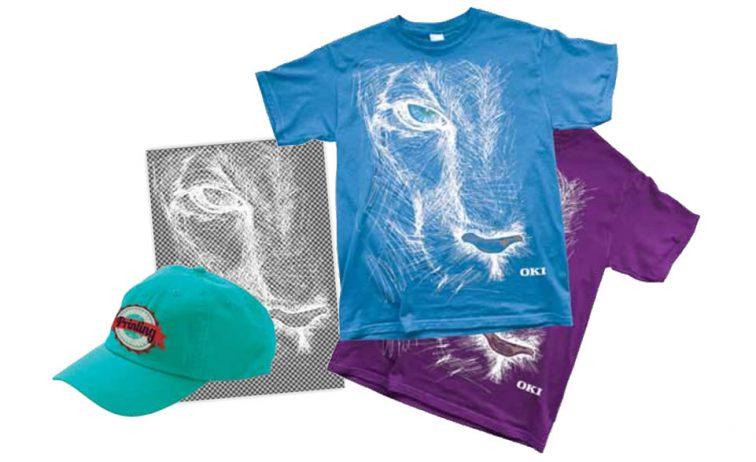 Graphic Arts Textiles Caps Clothing T-shirt printing
